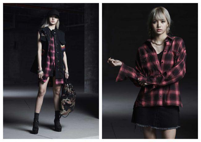 From urban wear, to pretty-in-plaid. / Source: One Hallyu