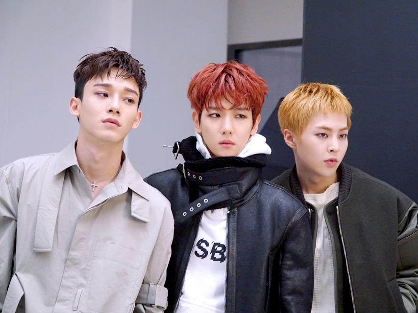 ChenBaekXi serving handsome looks as a unit