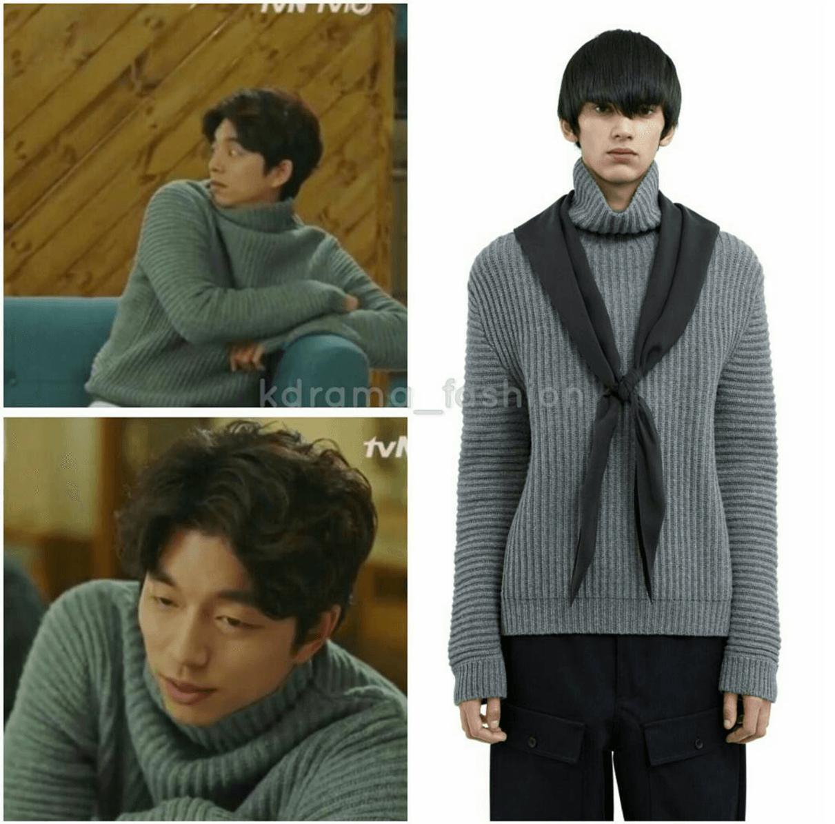 acne-studios-kalle-grey-melange-turtleneck-sweater