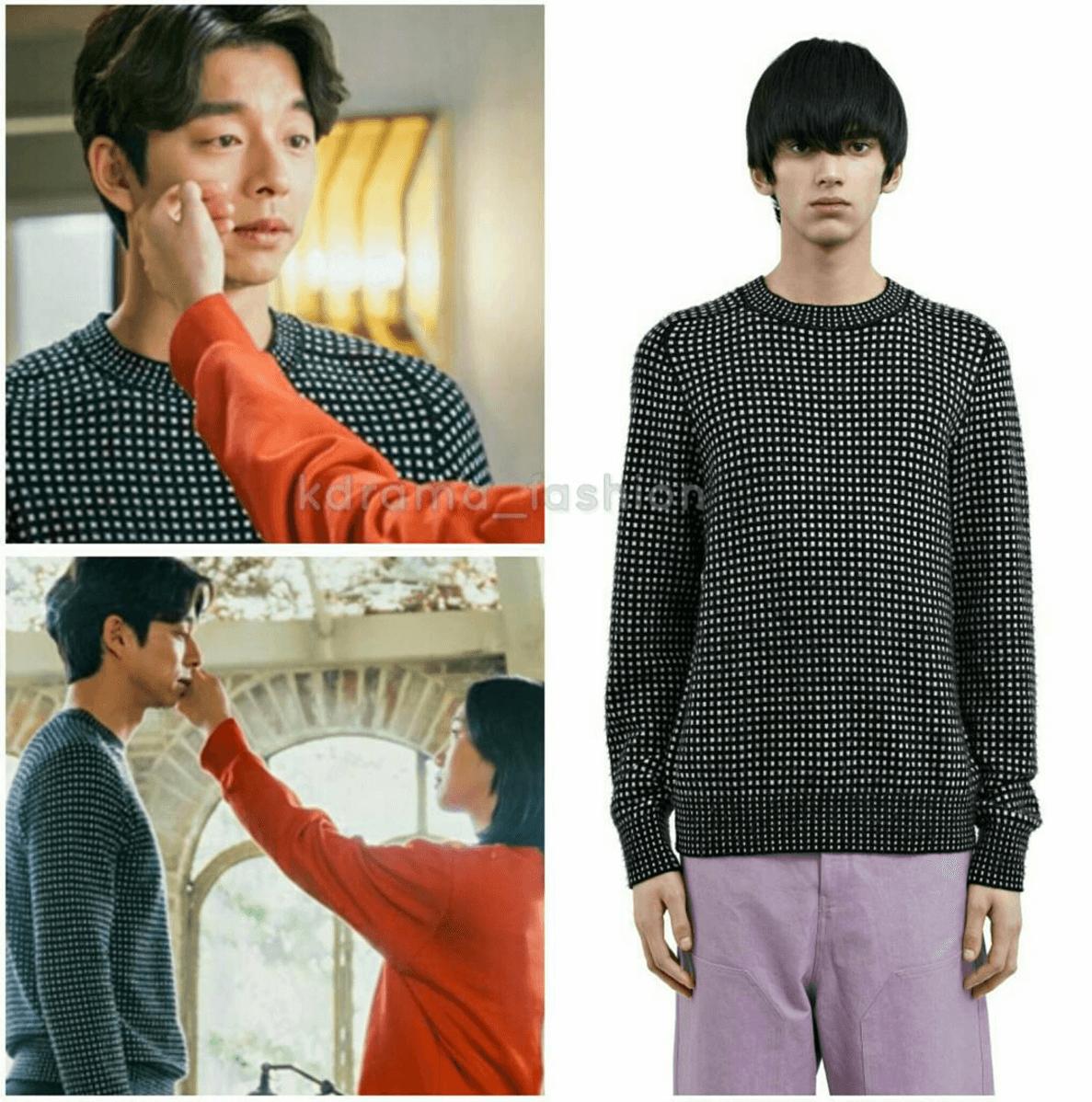 acne-studios-kite-check-blackwhite-sweater