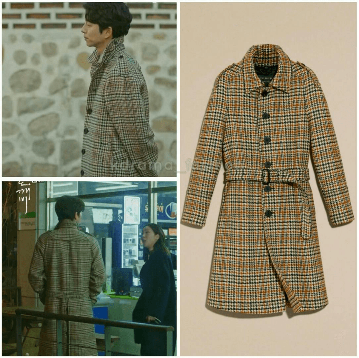 burberry-single-breasted-wool-tweed-trench-coat-ochre-yellow