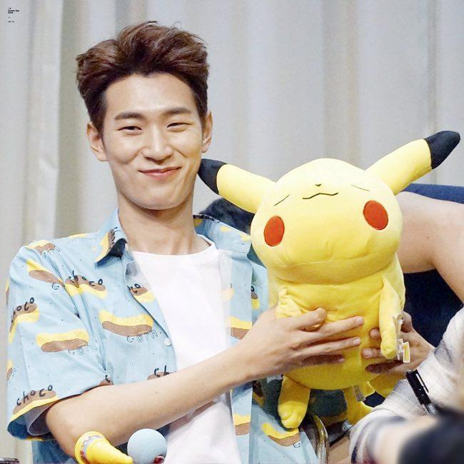His fans love to feed his obsession by giving him more plushies!