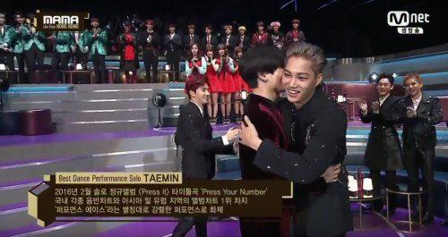 Taemin and Kai