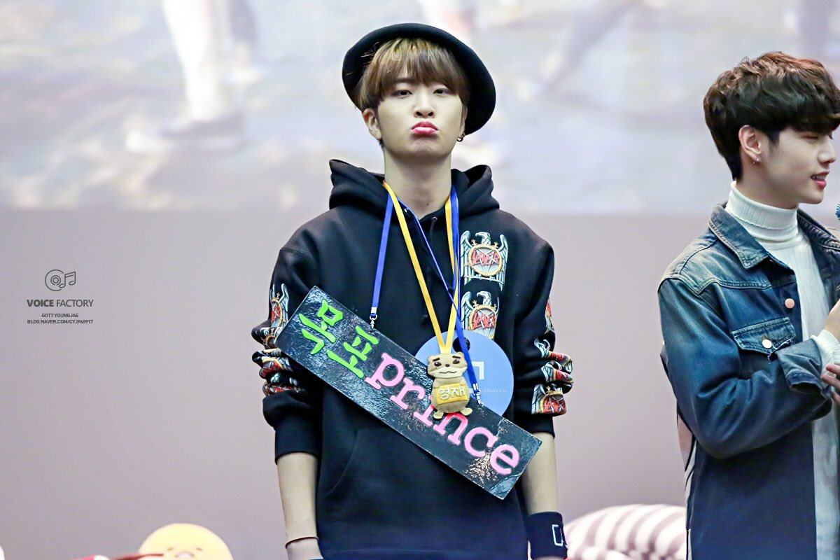 Youngjae Fansign