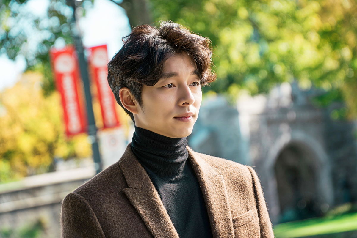Gong Yoo plays the role of Kim Shin in Goblin and is the main character.