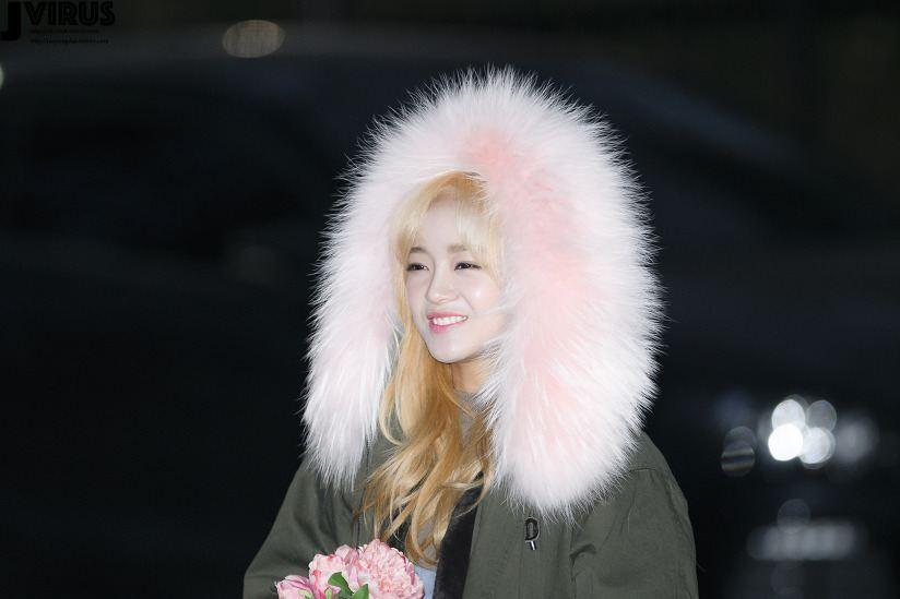 IOI Sejeong New Hair Color.