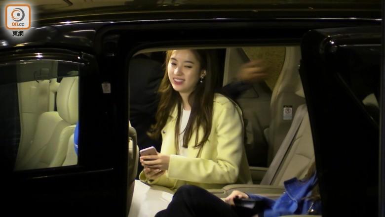 Han Hyo Joo in the car.