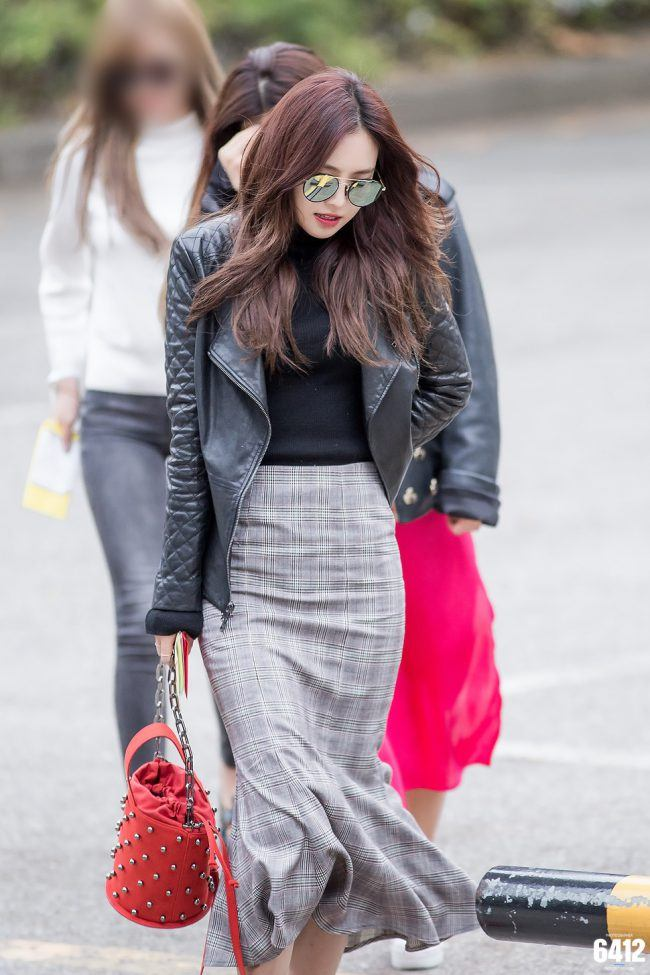 Naeun is definitely a Winter style icon!