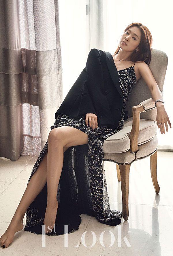 Park Shin Hye in Jill Stuart