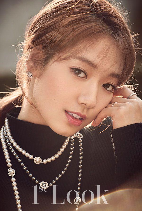 Park Shin Hye in a turtleneck