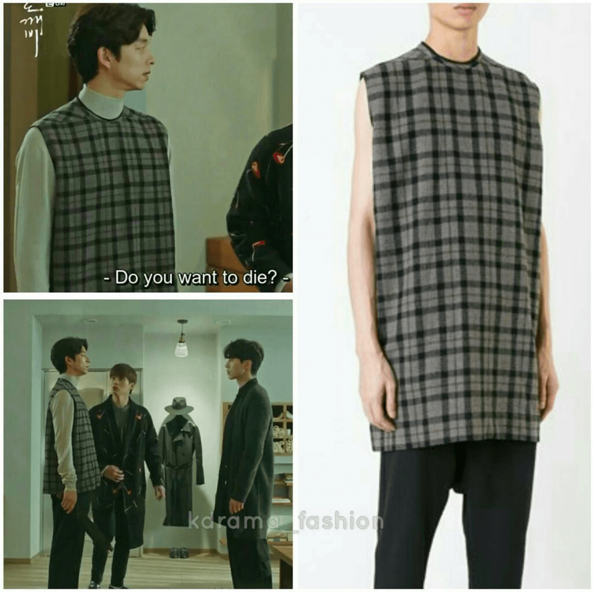 rick-owens-checked-loose-fit-top