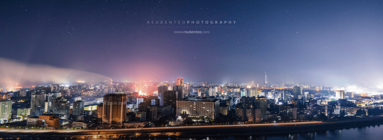 STARS OVER PYONGYANG CITY