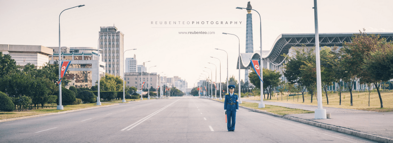 POLICEMAN AT JUCHE TOWER ROAD