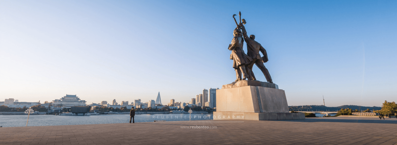 THE STATUE OF JUCHE TOWER
