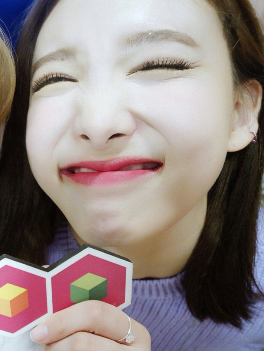 TWICE Nayeon Toothless Smile.