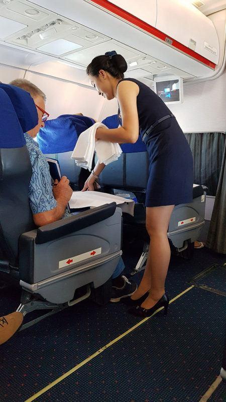 Sexy korean airlines stewardess