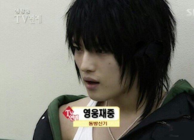 JYJ's Jaejoong also had the incredibly trendy wolf cut.