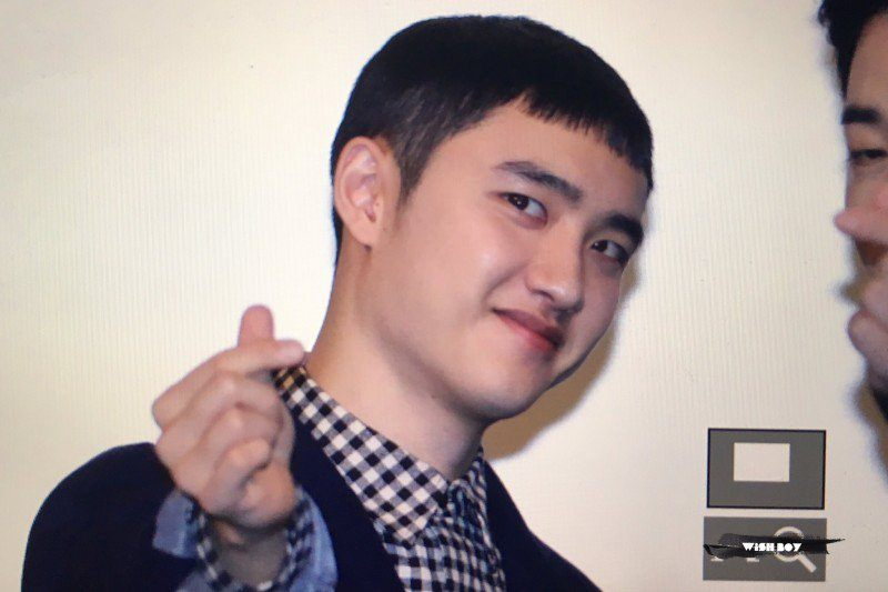 Exo D O Just Cut His Hair Extremely Short And It S