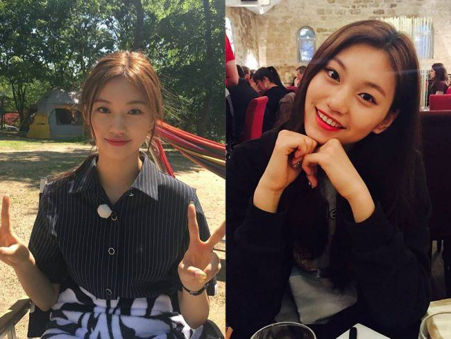 """With her movie star looks and stylish wardrobe, it's hard to believe Doyeon Kim is only 17, but the photogenic member of Korean girl group I.O.I has accomplished plenty in her short career. Keeping her outfits sweet to fit her fresh-faced image, Kim often sports schoolgirl skirts and pastels onstage, but it's her polished airport style that is the best indicator of her instinct for fashion."""