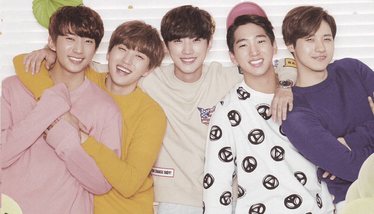 B1A4 seasons greetings