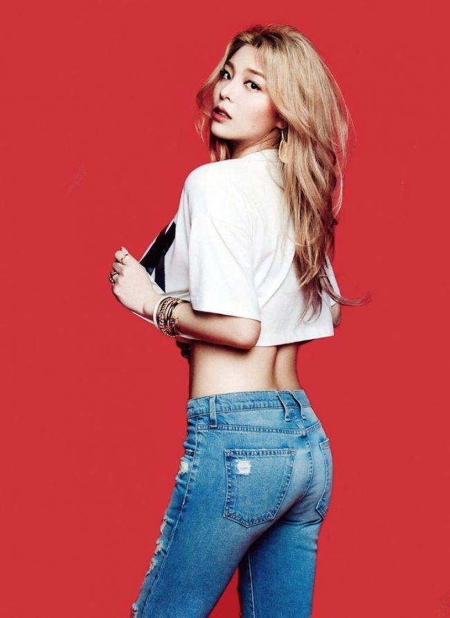 Ailee photoshoot