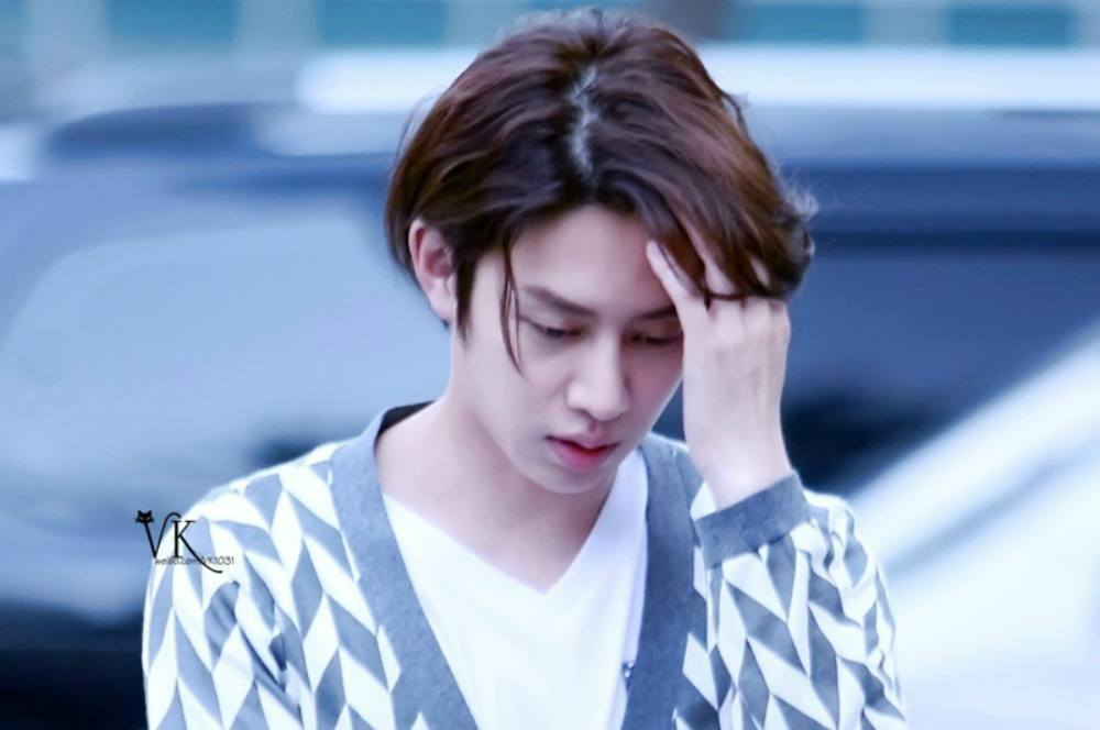 Super Juniors Heechul involved in a car accident