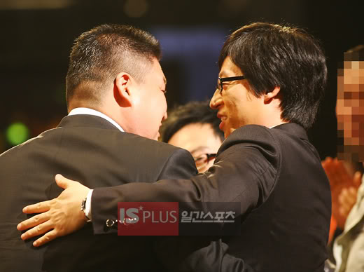 It has been ten years since Kang Ho Dong and Yoo Jae Suk both appeared on the same program.