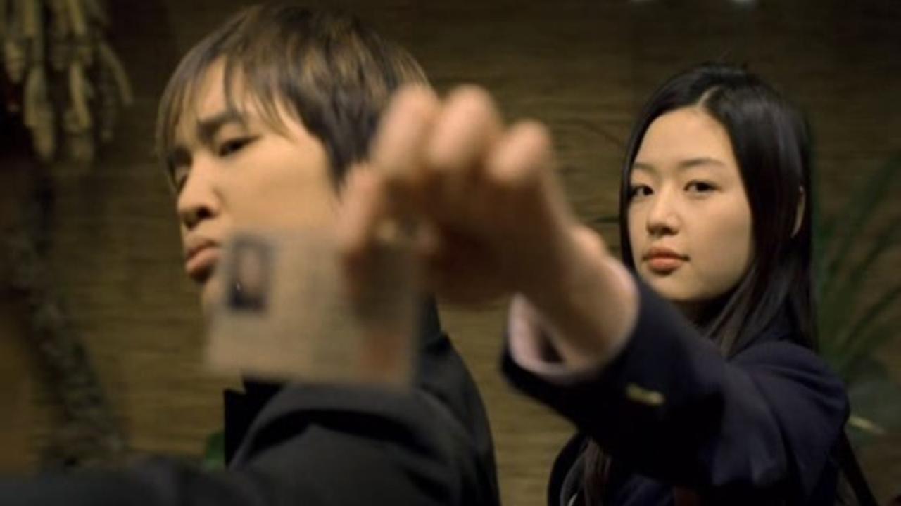 Jun Ji Hyun first shot to fame in the 2001 movie, My Sassy Girl.