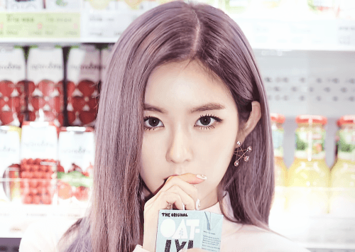 Irene's intense gaze is super mesmerizing