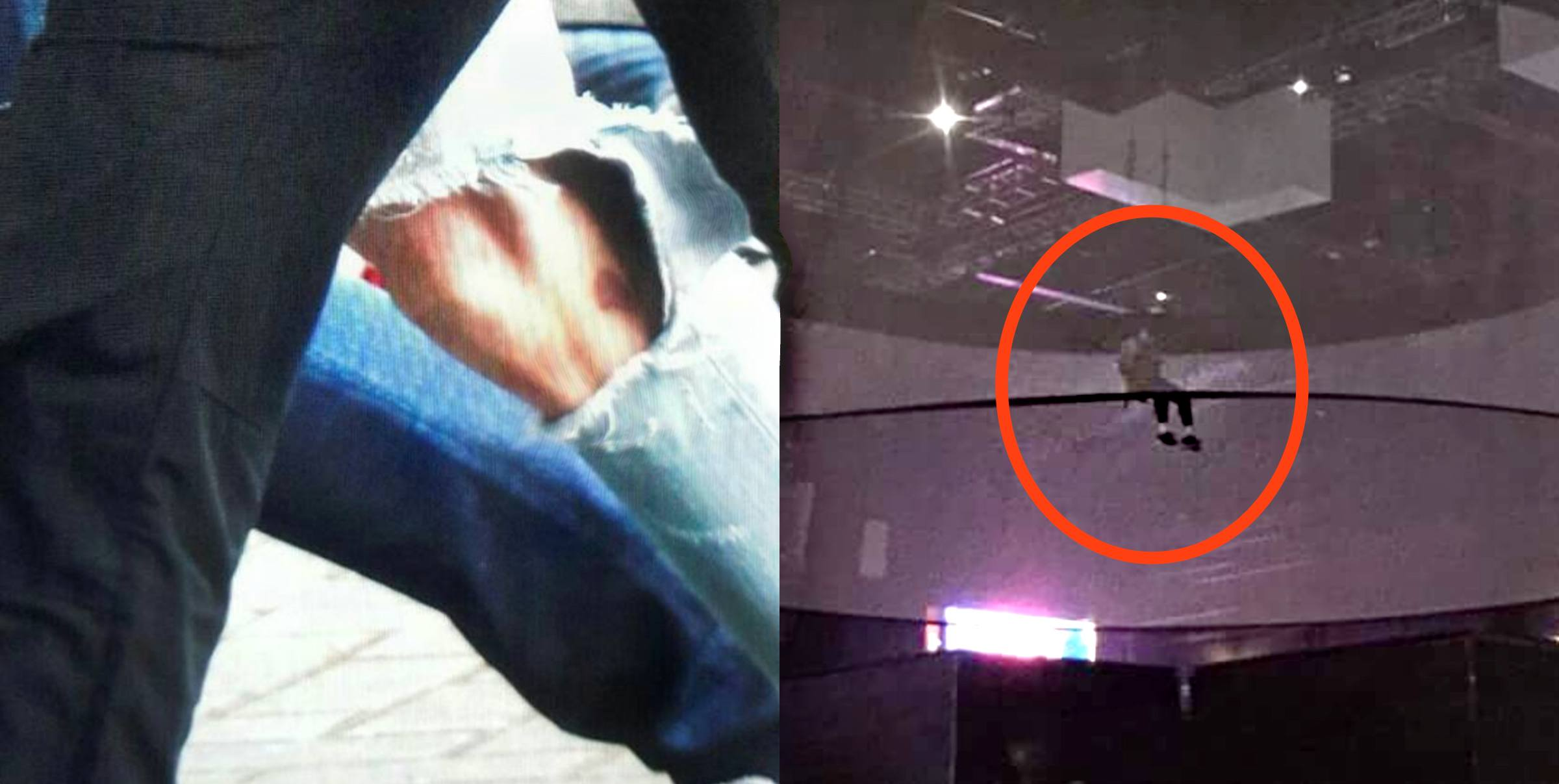 BTS Jungkook Injures Leg After Alleged Flying Stunt Accident