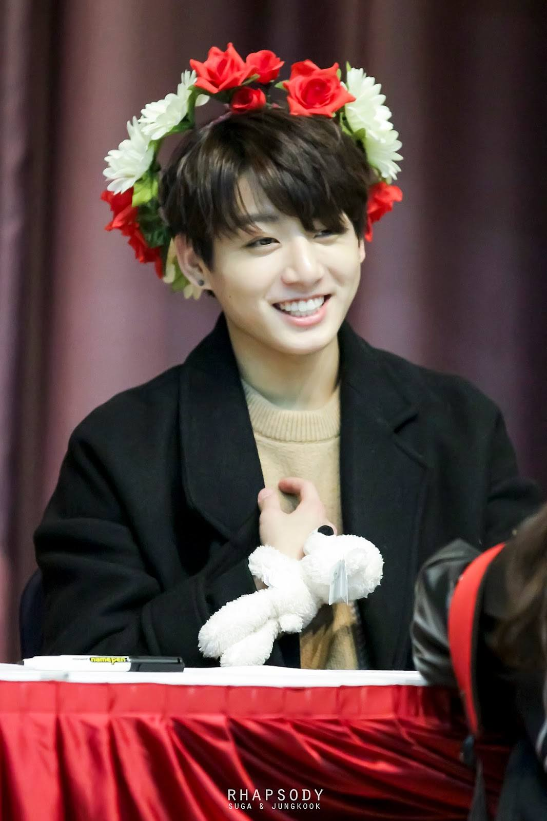 Jungkook and Yugyeom Have Adorable Twin Smiles