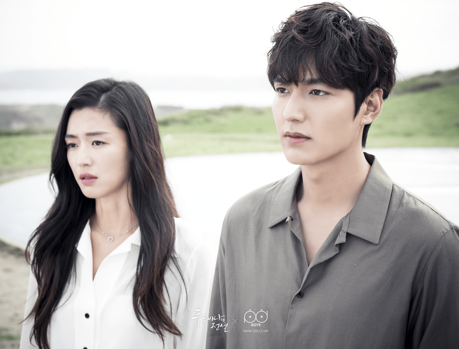 Jeon Ji-hyun and Lee Min-ho in Legend of the Blue Sea