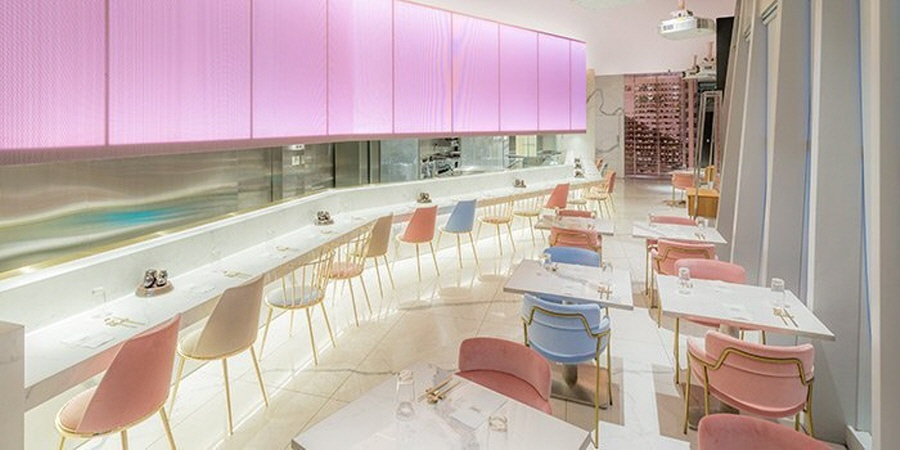 This is one aesthetically pleasing restaurant.