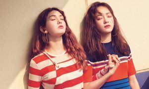 "Sejung and Somi for ""Marie Claire"""