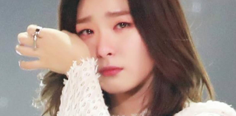 Red Velvet Seulgi Cries Talking About The Hardest Moment
