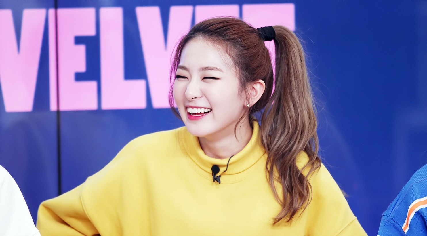 seulgi at fan meet