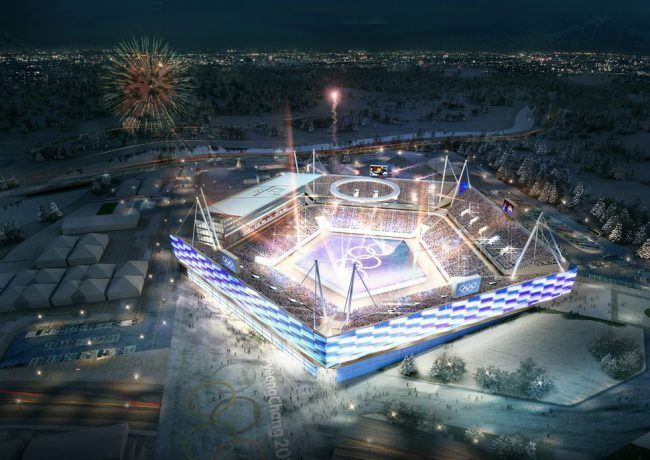 The concept for the Pyeongchang Olympic Stadium