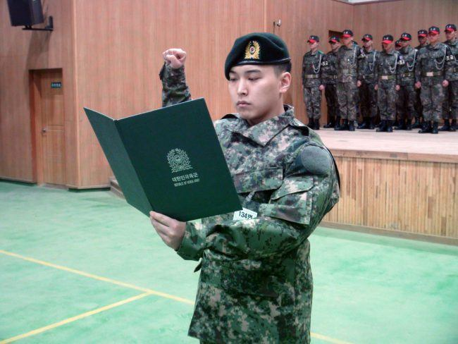 After his training as an active soldier, he was placed in the military band and plays the saxophone.