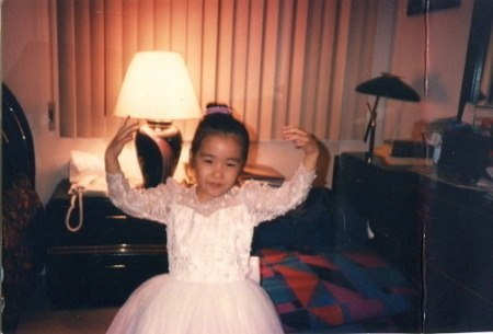 Funny enough, fans found a photo of Tiffany as a ballerina back when she was younger as well!