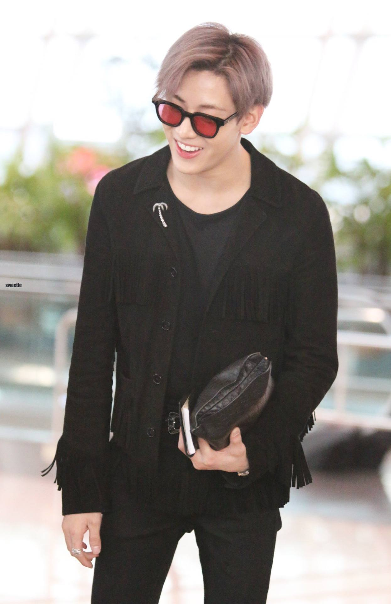 BamBam's airport fashion always keeps us on our toes / Source: sweetie