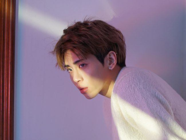 The light hits his face at just the right angle. / Source: SHINee Vyrl