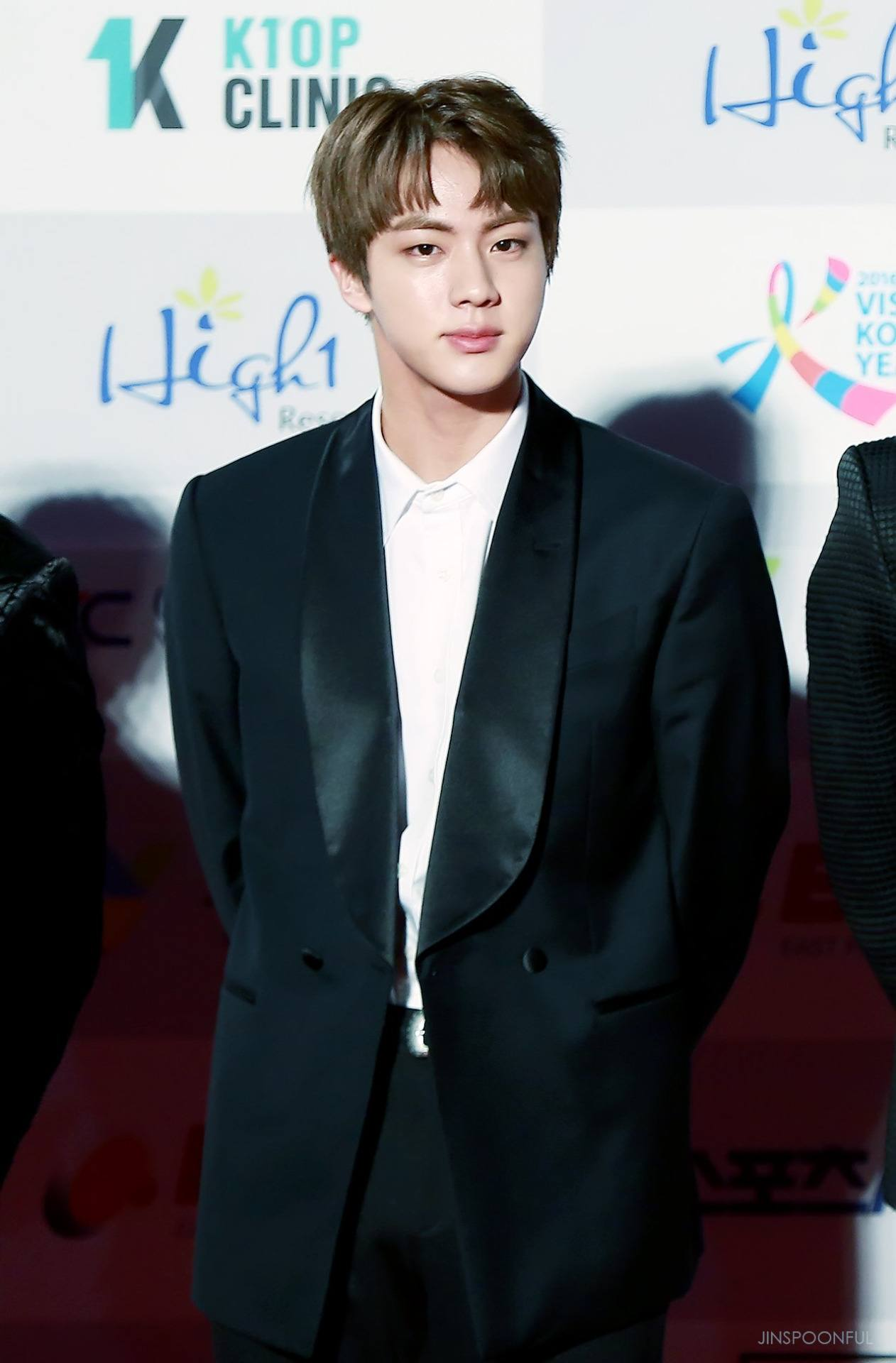 Bts Jin Is The Next Idol To Join The Choppy Bangs Trend