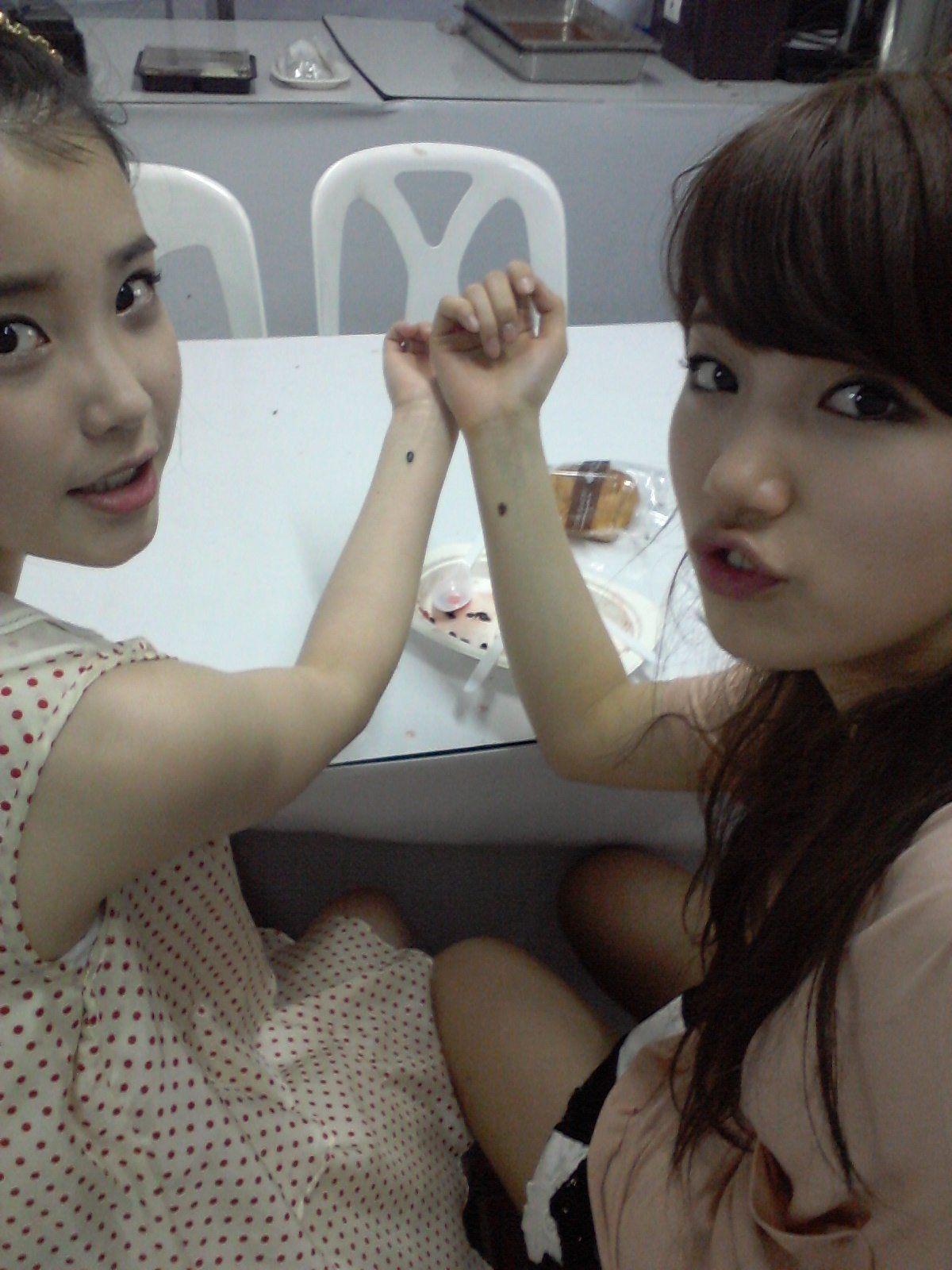 IU and Suzy