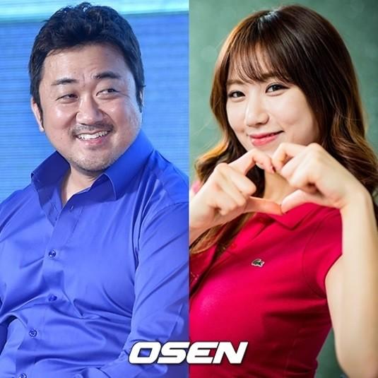 Ma Dong Seok & Ye Jung Hwa