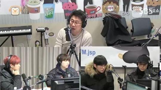 B1A4 on Nam Hee Suk's Cider
