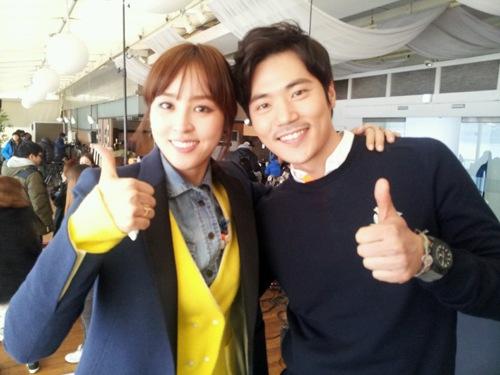 Han Hye Jin & Kim Kang Woo