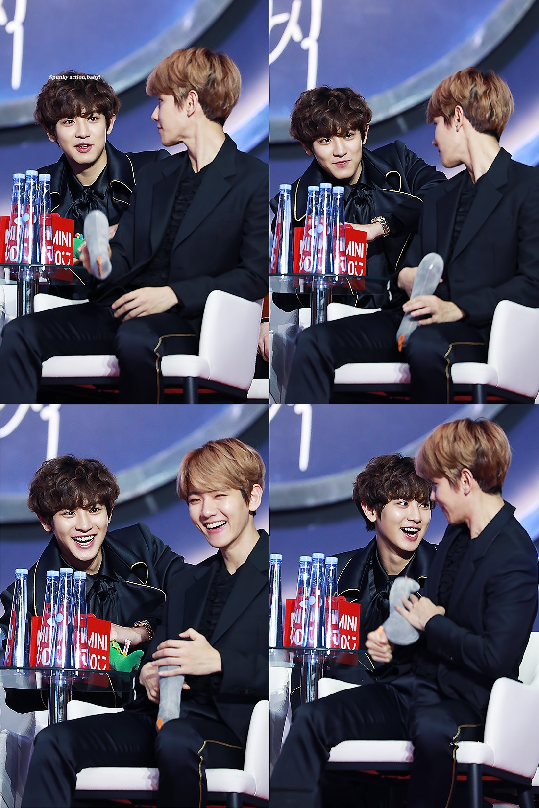 EXO's Baekhyun and Chanyeol