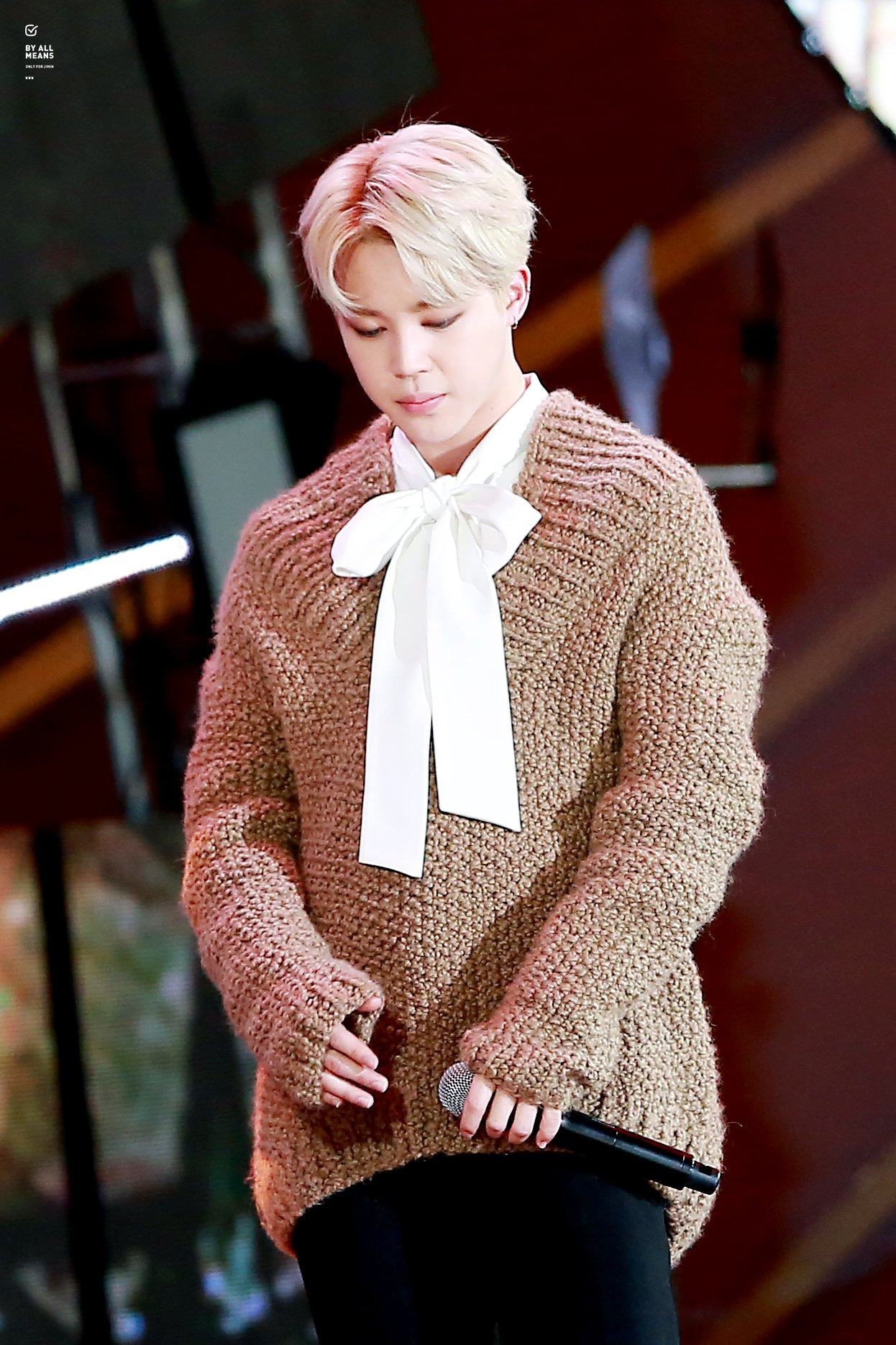 Bts Jimin Looks Like An Angel In His Over Sized Sweater