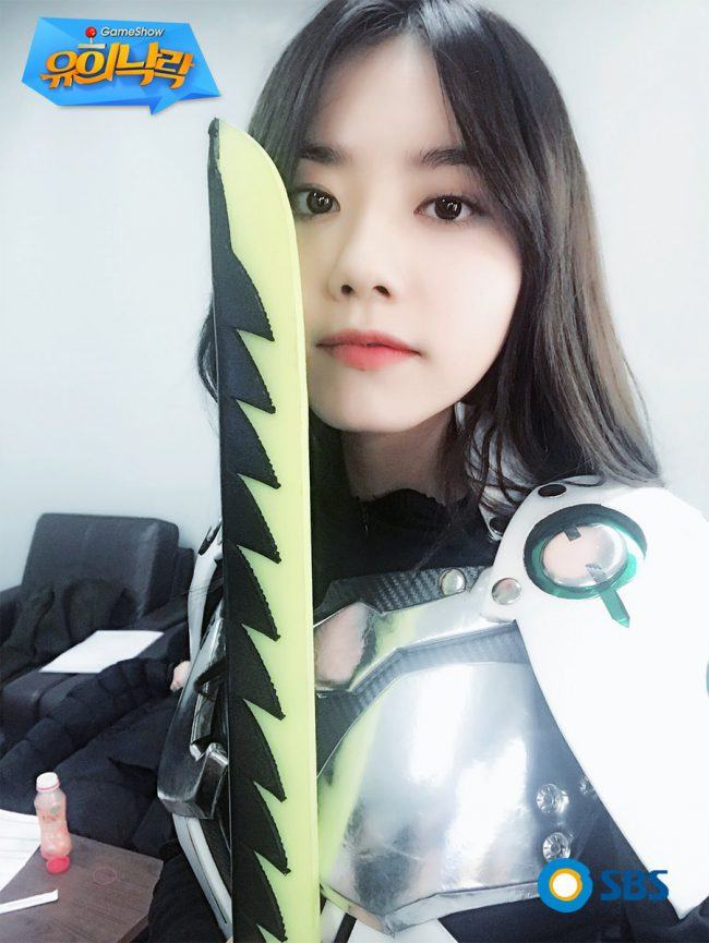 i o i s sohye looked amazing in her cosplay of this overwatch character