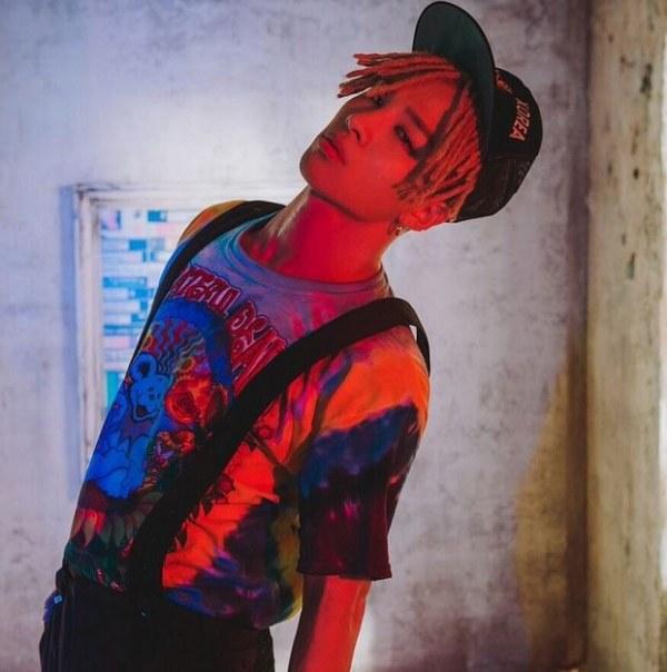 Taeyang's dreadlocks